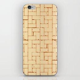 Wooden Parquet Flooring iPhone Skin