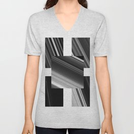 Saturn Rings (all) Unisex V-Neck