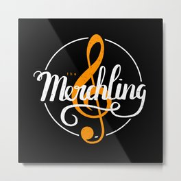 The Merchling Metal Print