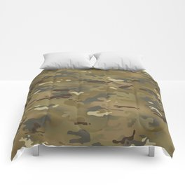Camouflage: Mud Colors Comforters