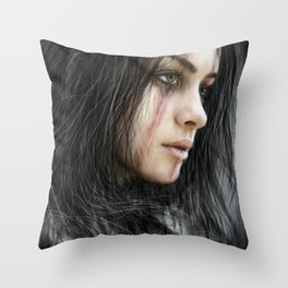 From the Storm Throw Pillow
