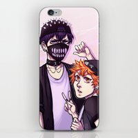 haikyuu iPhone & iPod Skins featuring Haikyuu!! / Fashion by Tikkilanka