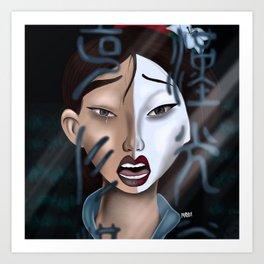Reflection Art Print