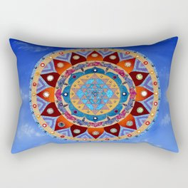 Sri Yantra Rectangular Pillow