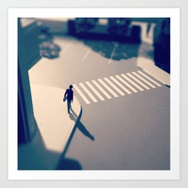 Crosswalk Mini Art Print