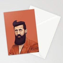 The Israeli Hipster leaders - Binyamin Ze'ev Herzl Stationery Cards