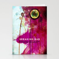 breaking Stationery Cards featuring BREAKING BAD by Michael Scott Murphy