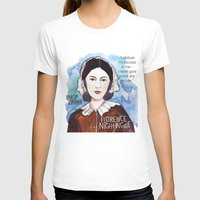 florence T-shirts featuring Florence Nightingale by The History Witch