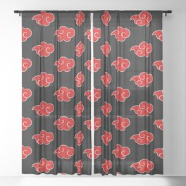 Akatsuki Clouds V.3 Sheer Curtain