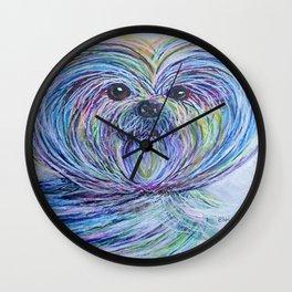 Shih Tsu Wall Clock