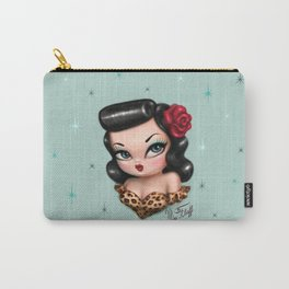 Rockabilly Baby Doll Carry-All Pouch