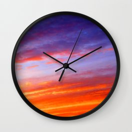 The arrival of night Wall Clock