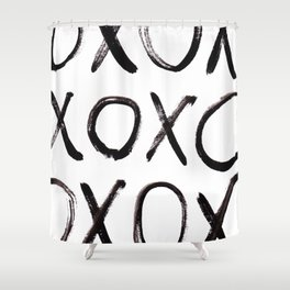 xo  Shower Curtain