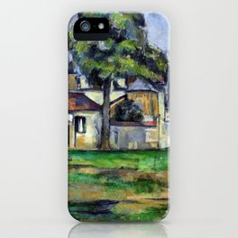 1888 - Paul Cezanne - Banks of the Marne iPhone Case