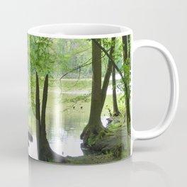 Forest with Creek scenery photo Coffee Mug
