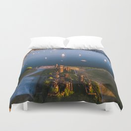 Gas Works and Lake Union Duvet Cover