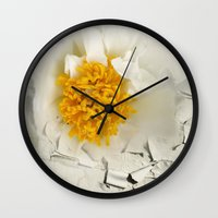 phoenix Wall Clocks featuring Phoenix by KunstFabrik_StaticMovement Manu Jobst
