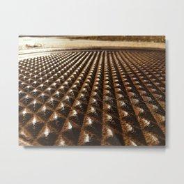 Manhole Cover II-Fort Smith, Arkansas Metal Print