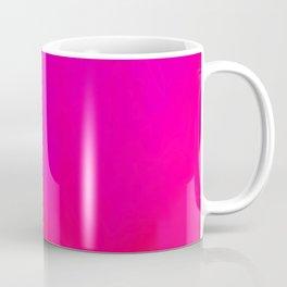 Fuchsia Fire Magenta Violet Ombre Coffee Mug