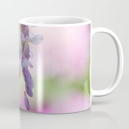 Rustic Wisteria Textured Coffee Mug