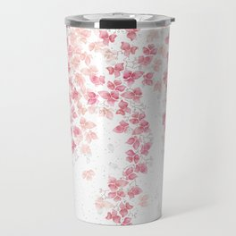 Bougainvillea Floral Vines Travel Mug