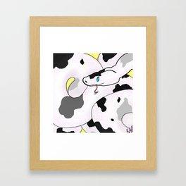 Snek Framed Art Print