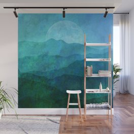 Blue Ridge Hills Wall Mural