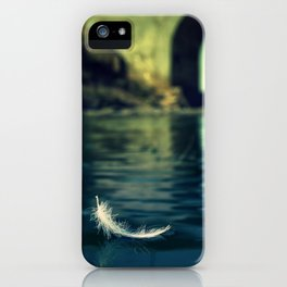 Lone sailor iPhone Case