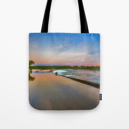 Colours of Ivanhoe Crossing Tote Bag