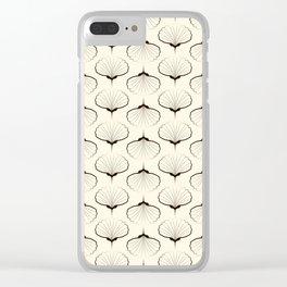 """Art Deco . No. 18 """"Shells."""" Clear iPhone Case"""