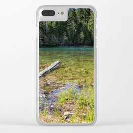 Finally Feels Like Spring Clear iPhone Case