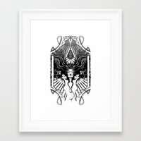 goddess Framed Art Prints featuring Goddess by 6amcrisis