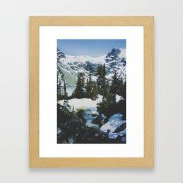 joffre lakes (11) Framed Art Print