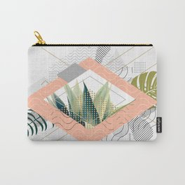 Abstract geometrical and botanical shapes I Carry-All Pouch