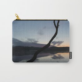 Sunset on lake, Nature Photography, Landscape Photos, sunset photos Carry-All Pouch