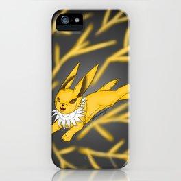 lightning storm iPhone Case