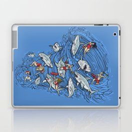 Malibu Beach Sharnado Massacre  Laptop & iPad Skin