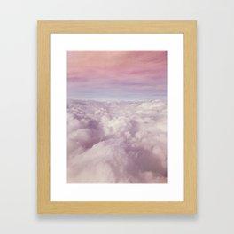 Candy Clouds Framed Art Print