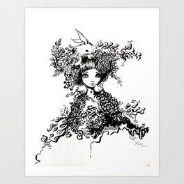 Lafa Art Print