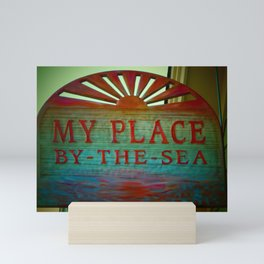 My Place By The Sea Mini Art Print
