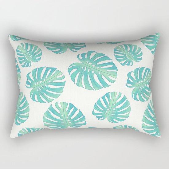 Vintage leaves Rectangular Pillow