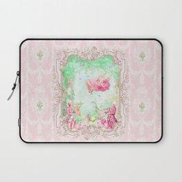 The Swing, Romantic Marie Antoinette Garden Laptop Sleeve