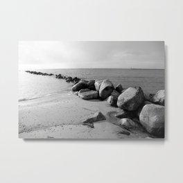 Insel Fehmarn Metal Print