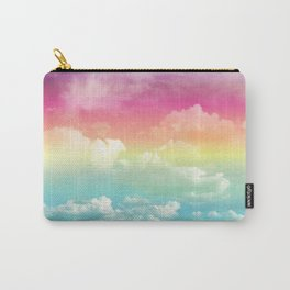 Clouds in a Rainbow Unicorn Sky Carry-All Pouch