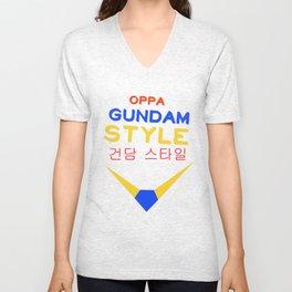 Gundam Style Unisex V-Neck