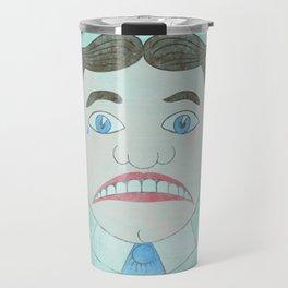 Sad Tillie - Asbury Park, NJ Travel Mug
