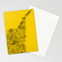 Line Work Stationery Cards