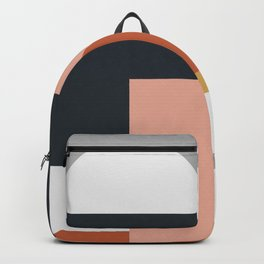 Abstract Geometric 09 Backpack