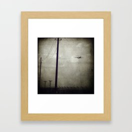 Sad Goodbyes Framed Art Print