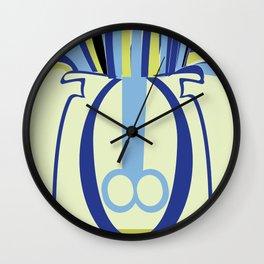 Biology of anemone Wall Clock